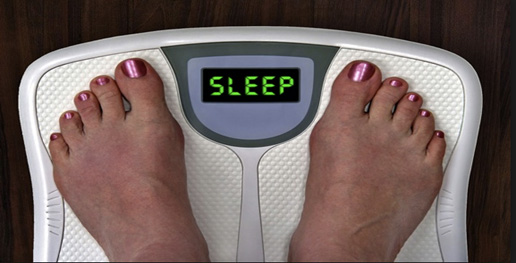 Lose weight with better sleep